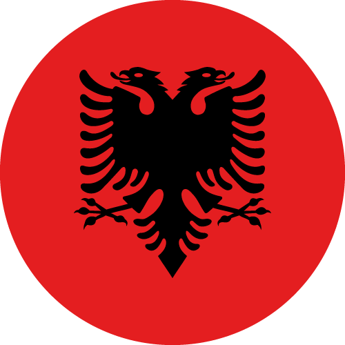 Download free vector flags of Albania at VectorFlags.com
