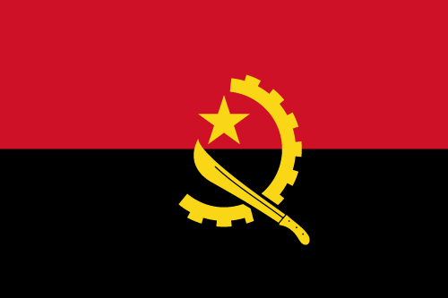 Download free vector flags of Angola at VectorFlags.com
