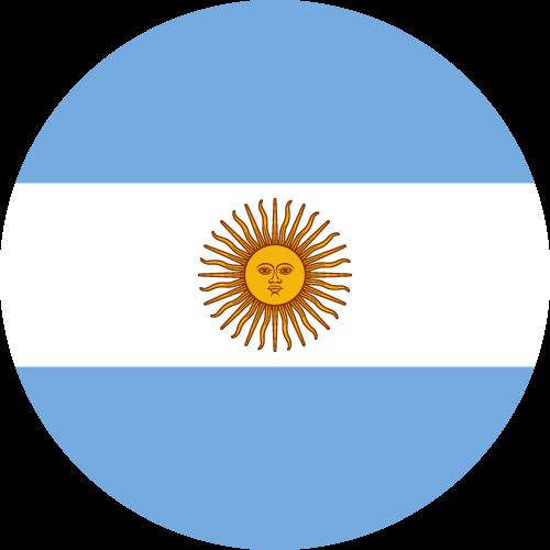 Slikovni rezultat za circle flag argentina