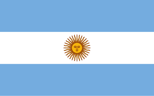 Download free vector flags of Argentina at VectorFlags.com