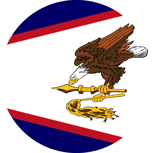 Download free vector flags of American Samoa at VectorFlags.com