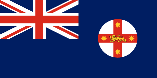 Download free vector flags of New South Wales at VectorFlags.com