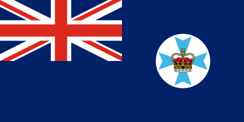 Download free vector flags of Queensland at VectorFlags.com