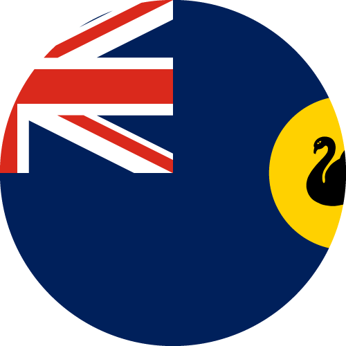 Download free vector flags of Western Australia at VectorFlags.com