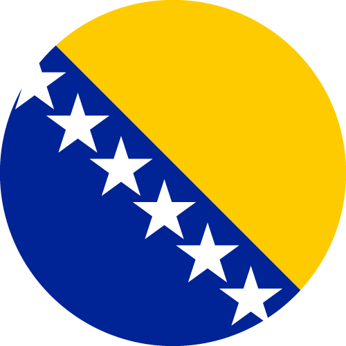 Download free vector flags of Bosnia and Herzegovina at VectorFlags.com