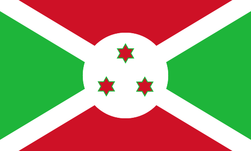 Download free vector flags of Burundi at VectorFlags.com