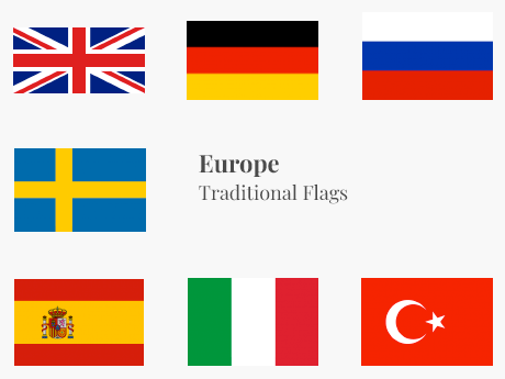 Europe Flag Bundle