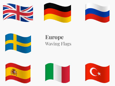 Europe Waving Bundle