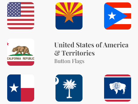 United States & Territories Button Bundle