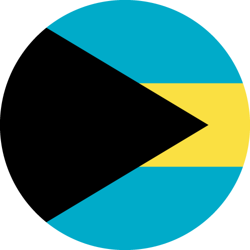 Download free vector flags of the Bahamas at VectorFlags.com