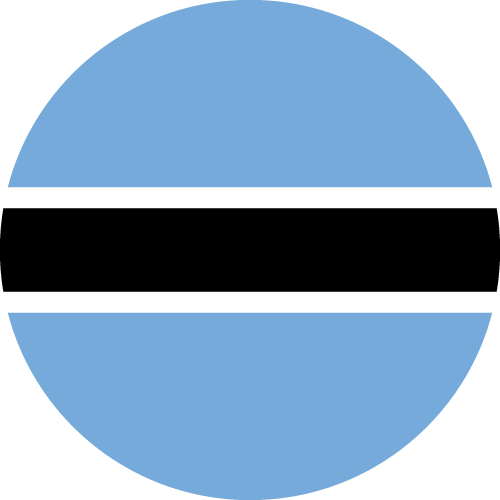 Download free vector flags of Botswana at VectorFlags.com
