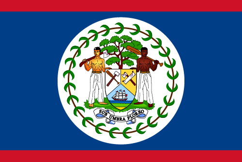 Download free vector flags of Belize at VectorFlags.com