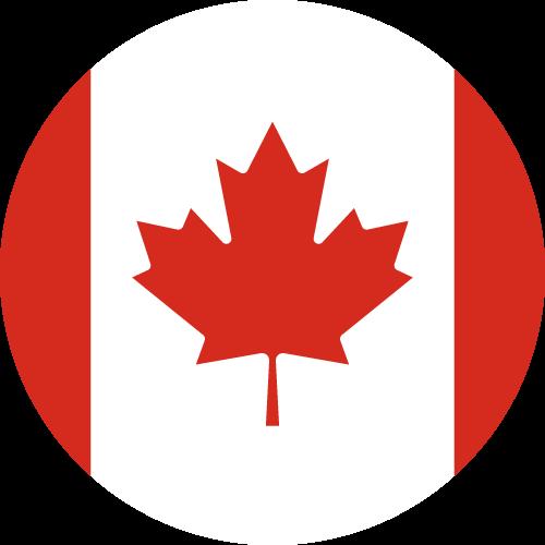 Free Vector Flag of ca-circle-01
