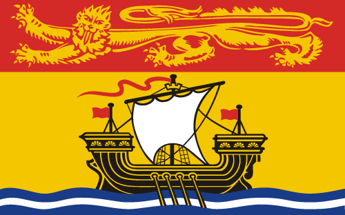 Download free vector flags of New Brunswick at VectorFlags.com