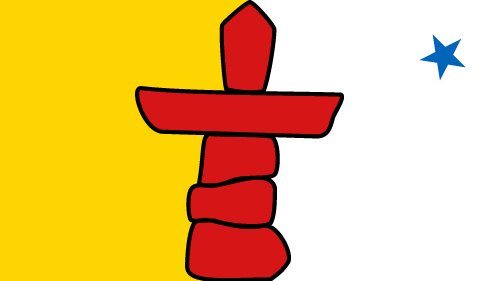 Download free vector flags of Nunavut at VectorFlags.com