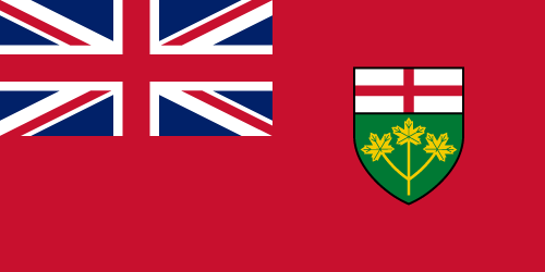 Download free vector flags of Ontario at VectorFlags.com
