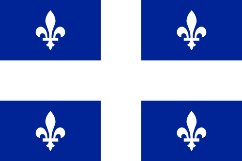 Download free vector flags of Quebec at VectorFlags.com