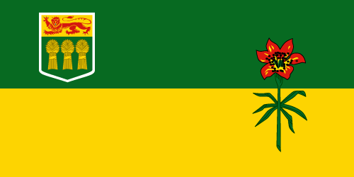 Download free vector flags of Saskatchewan at VectorFlags.com