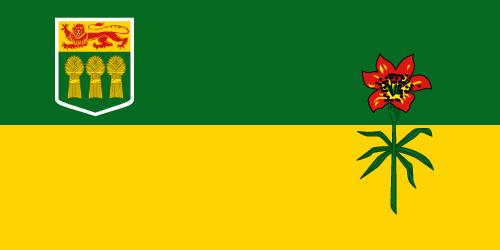 Download free vector flags of Saskatchewan at VectorFlags.com