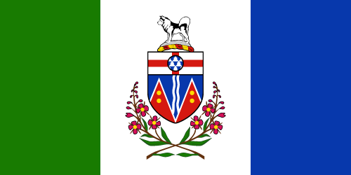Download free vector flags of Yukon at VectorFlags.com