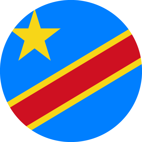 Download free vector flags of the Democratic Republic of the Congo at VectorFlags.com