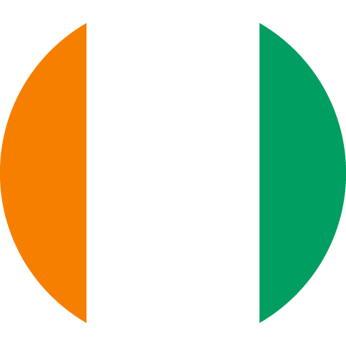 Download free vector flags of the Ivory Coast at VectorFlags.com