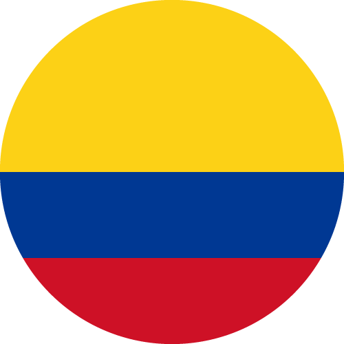 Download free vector flags of Colombia at VectorFlags.com
