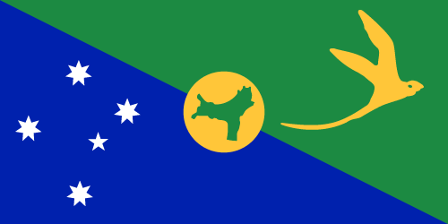Download free vector flags of Christmas Island at VectorFlags.com