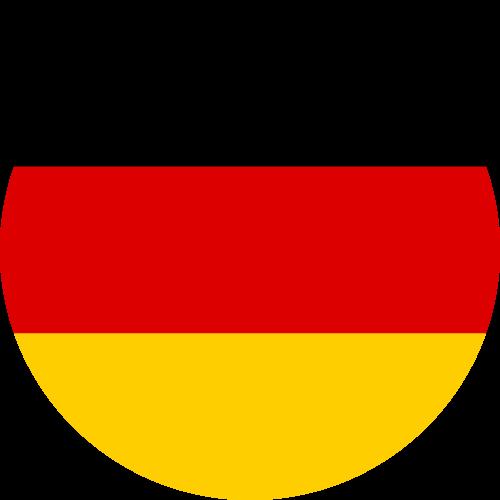 Free Vector Flag of de-circle-01