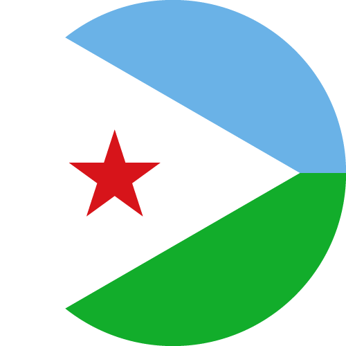 Download free vector flags of Djibouti at VectorFlags.com