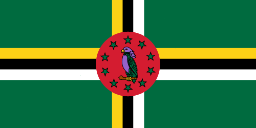 Download free vector flags of Dominica at VectorFlags.com