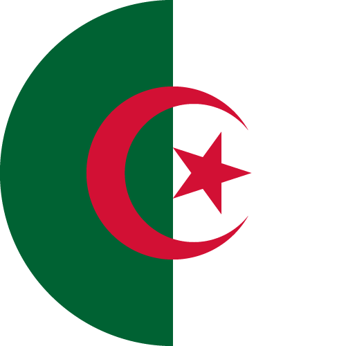 Download free vector flags of Algeria at VectorFlags.com