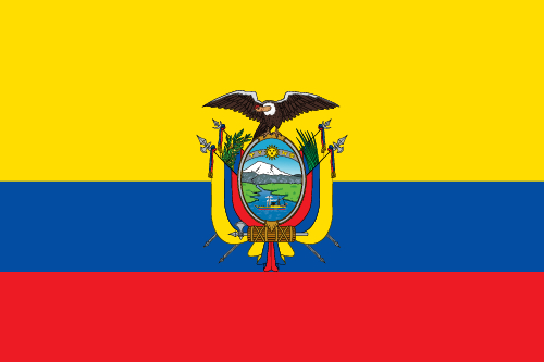 Download free vector flags of Ecuador at VectorFlags.com