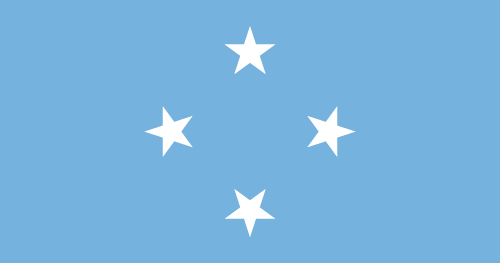 Download free vector flags of the Federated States of Micronesia at VectorFlags.com