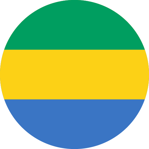 Download free vector flags of Gabon at VectorFlags.com