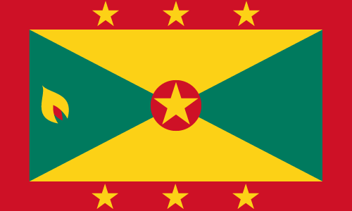 Download free vector flags of Grenada at VectorFlags.com