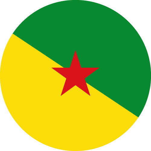 Download free vector flags of French Guiana at VectorFlags.com
