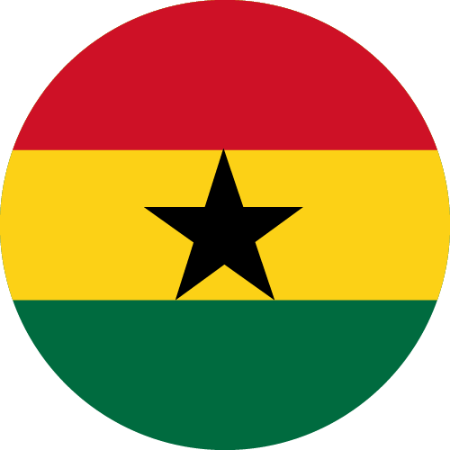 Download free vector flags of Ghana at VectorFlags.com