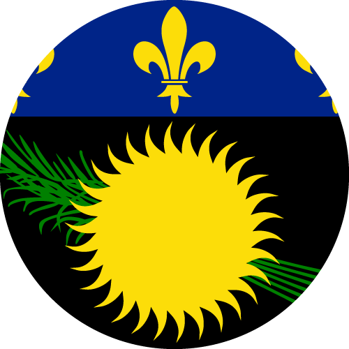 Download free vector flags of Guadeloupe at VectorFlags.com