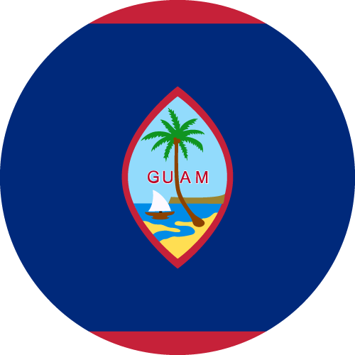 Download free vector flags of Guam at VectorFlags.com