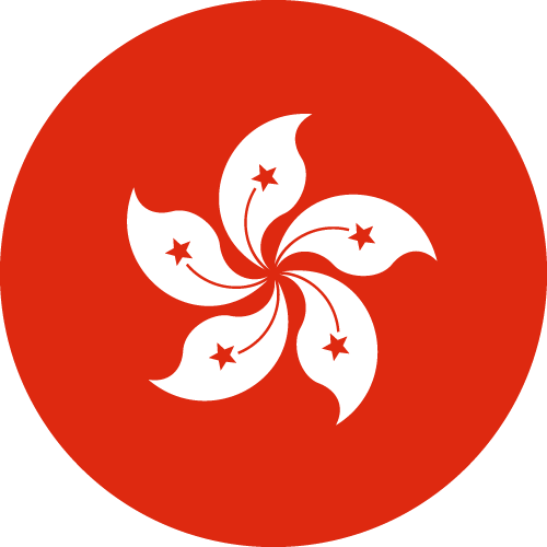 Free Vector Flag of hk-circle-01