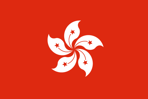 Download free vector flags of Hong Kong at VectorFlags.com