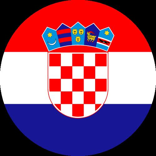 Download free vector flags of Croatia at VectorFlags.com