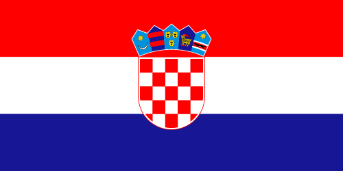 Download free vector flags of Croatia at VectorFlags.com