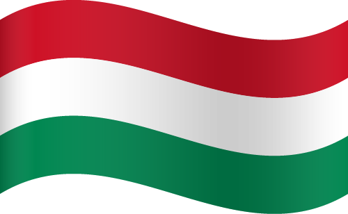 Vector Country Flag of Hungary - Waving | Vector World Flags
