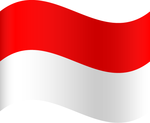 Free Vector Flag of id-wave-01