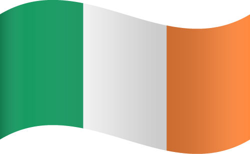 Vector Country Flag of Ireland - Waving | Vector World Flags