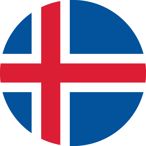 Download free vector flags of Iceland at VectorFlags.com