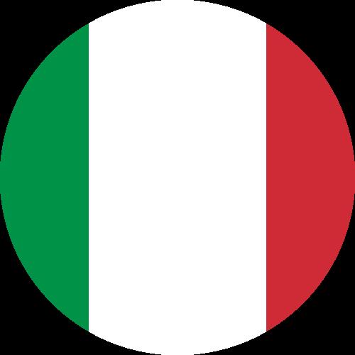 Free Vector Flag of it-circle-01