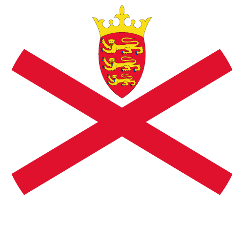 Download free vector flags of Jersey at VectorFlags.com